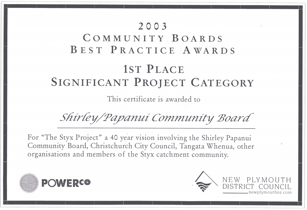 2003 Best Practice Awards